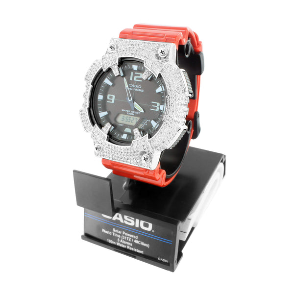 Mens AQS810W Solar Powered Casio Watch