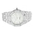 Mens Presidential Style Watch Metal Band White Dial Forza Causal Wear