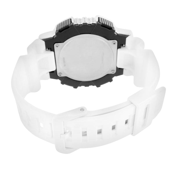 White Solar Powered Casio Watch AQS810W-7A