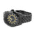 Black Mens Tachymeter Watch Custom Design Joe Rodeo Jojo Look Ice Master Steel