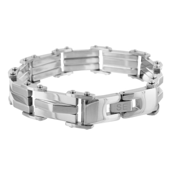 Stainless Steel Mens Solid Stainless Steel 9.0