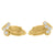 Small Praying Hands Earrings 925 Silver 14k Gold Finish