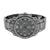 Mens Black Finish Watch Iced Out White Lab Diamond Techno Pave Watch