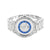 Mens Watch Princess Round Cut Simulated Diamonds Joe Rodeo Jojino 46 MM