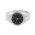 Black Dial Men Watch Techno Pave Joe Rodeo Jojino Princess Round Cut CZ Iced Out