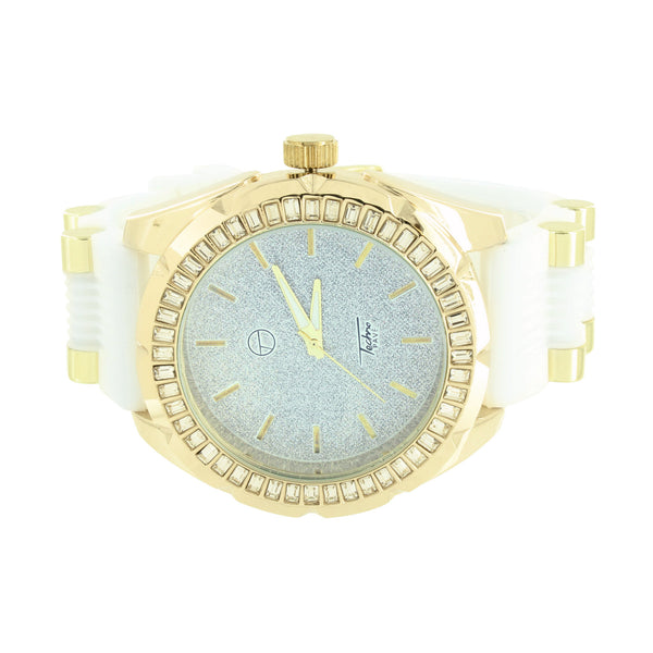 Iced Watch Lab Diamond Techno Pave Designer Wear