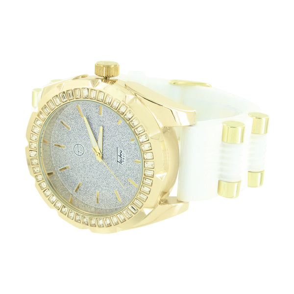 Watch Lab Diamond Techno Pave Designer Wear