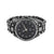 Black PVD Mens Watch Iced Out Princess Round Cut Simulated CZ Stones Jojino Jojo