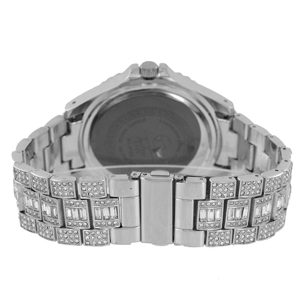 Mens Iced Out Watch Princess Cut Custom Design Jojino Jojo
