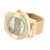 Rose Gold Finish Watch Silver Tone Dial Mesh Band