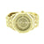 Gold Finish Watch Mens Fully  AP-04 Illusion Dial Rapper Wear CZ Jojino