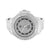 Mens White Watch Simulated Diamonds Metal Band Jojo Jojno Jumbo Large Case 59 MM