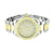 Mens 2 Tone Watch Icetime Genuine Diamond Water Resistant