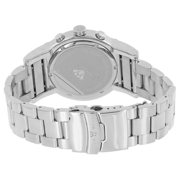 Stainless Steel Mens Watch Aqua Master Diamond Glow In Dark Hour Mark
