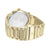 Roman Dial  14K Yellow Gold Finish Mason Watch