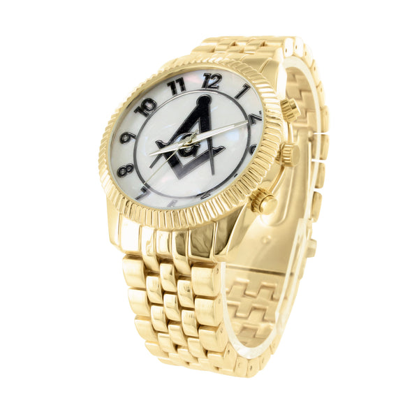 MOP Dial Mason Watch