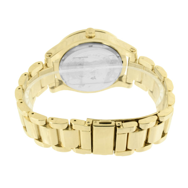 Gold Tone Watch Jojino Steel Back Joe Rodeo Jojo Water Resist Analog Sale