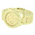 New Gold Tone  Watch Geneva Joe Rodeo  Steel Back Water Resistant