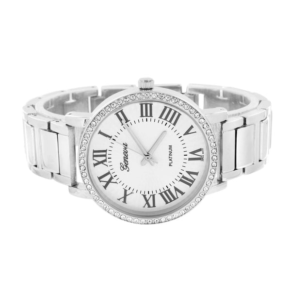 White Geneva Watch Lab Diamond