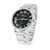 Black / White  Watch Stainless Steel Back