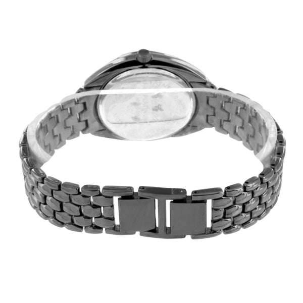 Black Round Watch Black Lab Create Diamond Ladies New