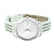 Silver Rubber Band Watch Analog Silver Finish Dial