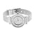 Mesh Band Women Watch White Geneva Platinum 29 MM