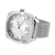 White Gold Tone Watch NY London  Mesh Band Water Resistant