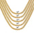 Silver 6MM Miami Cuban Link Choker Hip Hop Necklace 18-22 IN