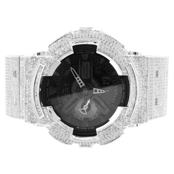 Custom Iced Out Band G-Shock GA110LPA-1A Series Men's Classic Watch