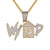 Mens What Your Trap Doing Hip Hop Custom Designer Pendant