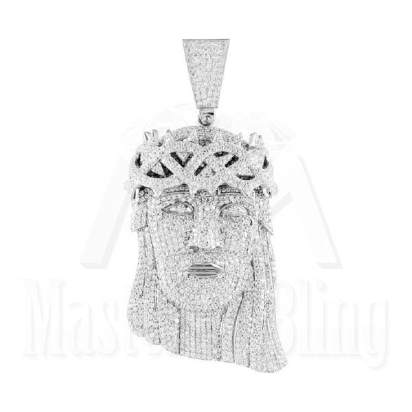 Jesus Pendant With Iced Out Miami Cuban Chain