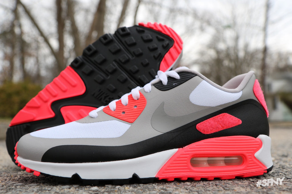 pretty nice 802fc 6404f ... Nike Air Max 90 V SP Patch - Infrared - Size 9   9.5