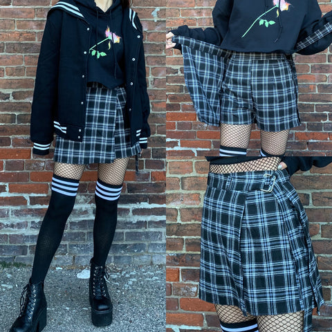 FREE SHIP- 2019 KAWAII PREPPY KOKO Shorts Skirt