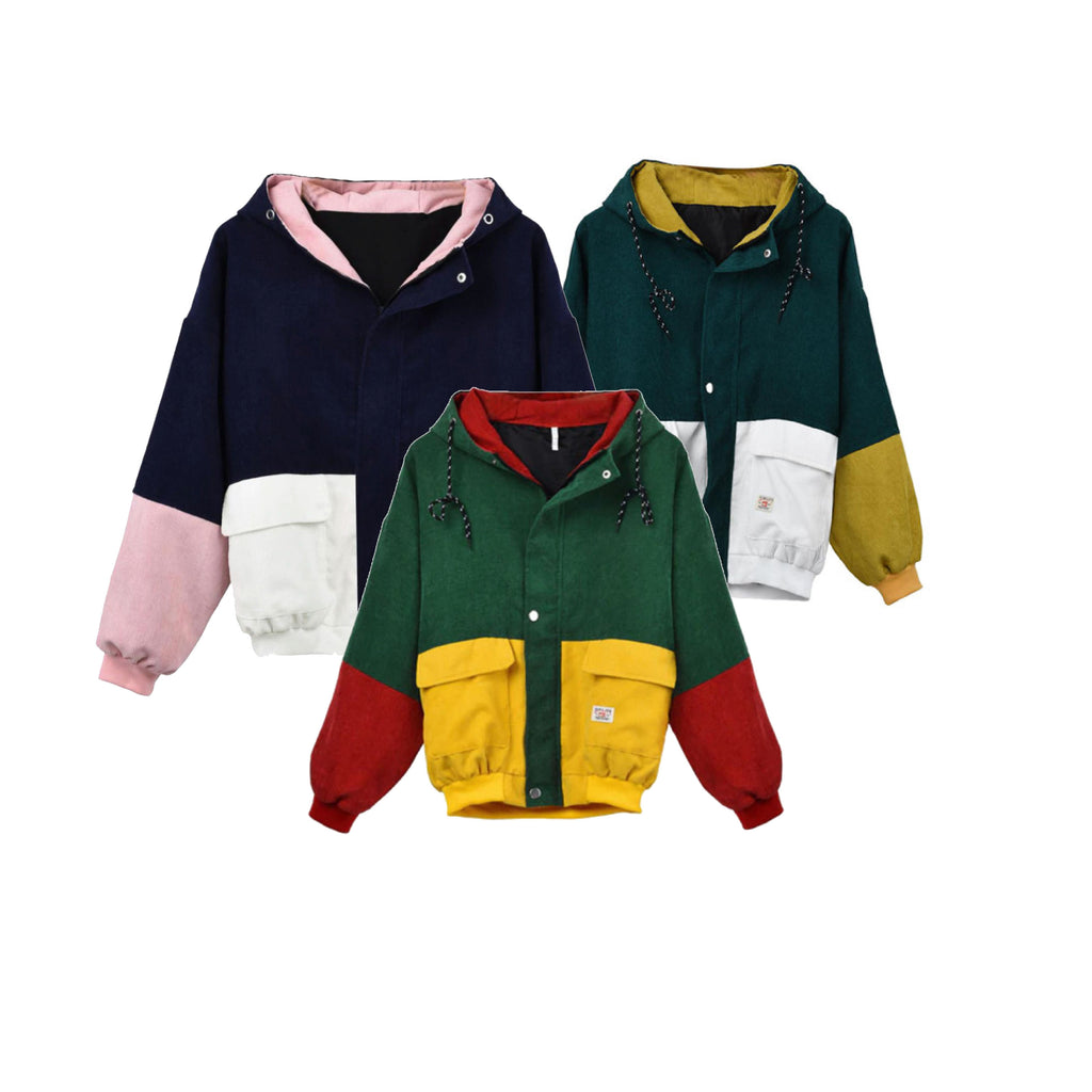 PROMOTION COLOR BLOCK JACKET