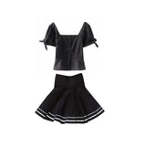 2019 NEW spring/summer Kawaii Goth blouse