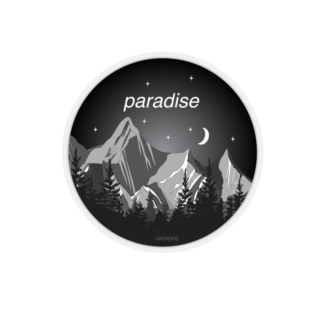 BLACK PARADISE - Mountains are waiting KOKO Sticker
