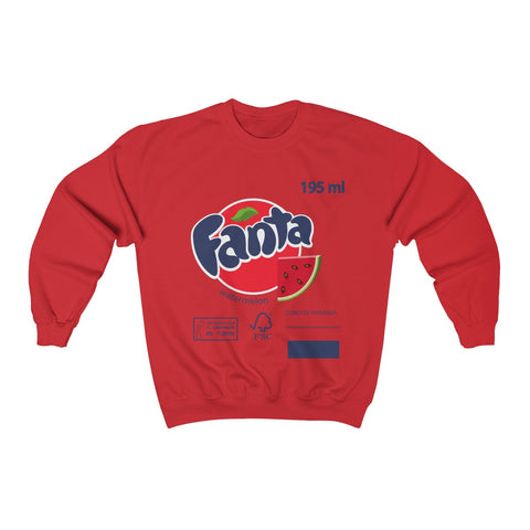 Fall/Winter 2020 new fanta watermelon Unisex Sweatshirt