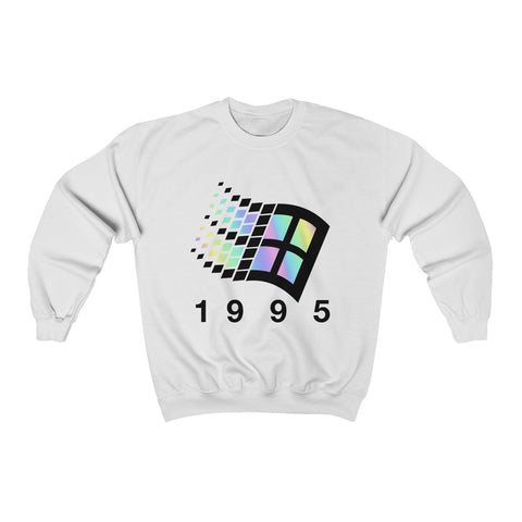 Vaporwave 1995 windows unisex jumper