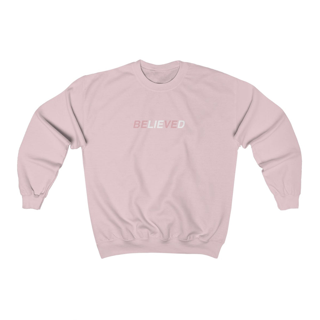 BROKEN HEART - beLIEveD Unisex Crewneck Sweatshirt