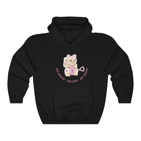 UNLOCK MY HEART KOKO Hooded Sweatshirt