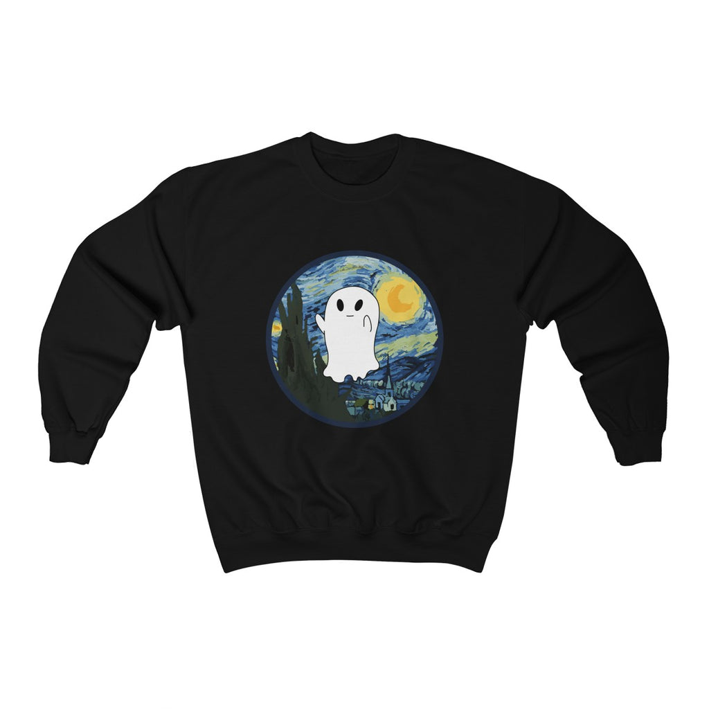 Van Ghost - scary night Unisex Sweatshirt