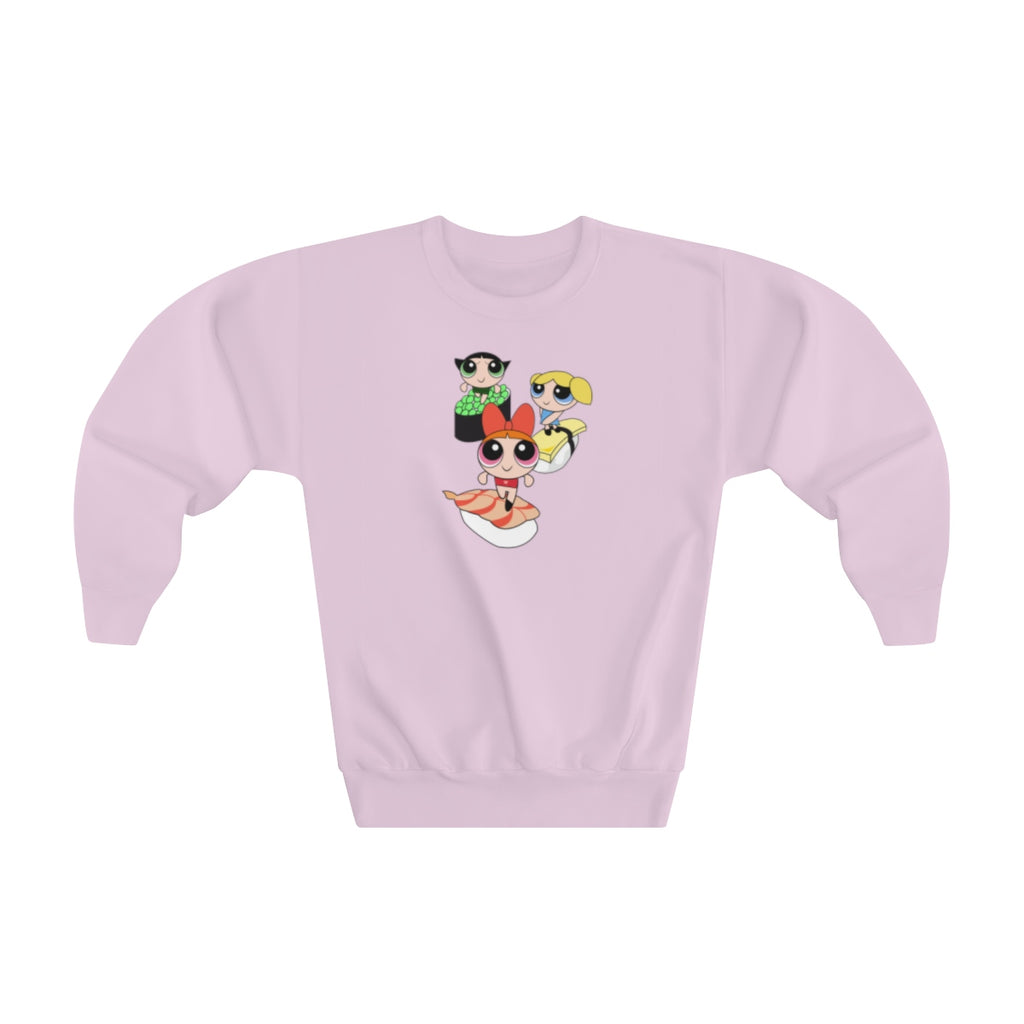 POWER PUFF SUSHI -Youth Sweatshirt