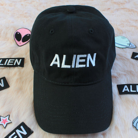 KOKO ALIEN grunge aesthetic dad cap