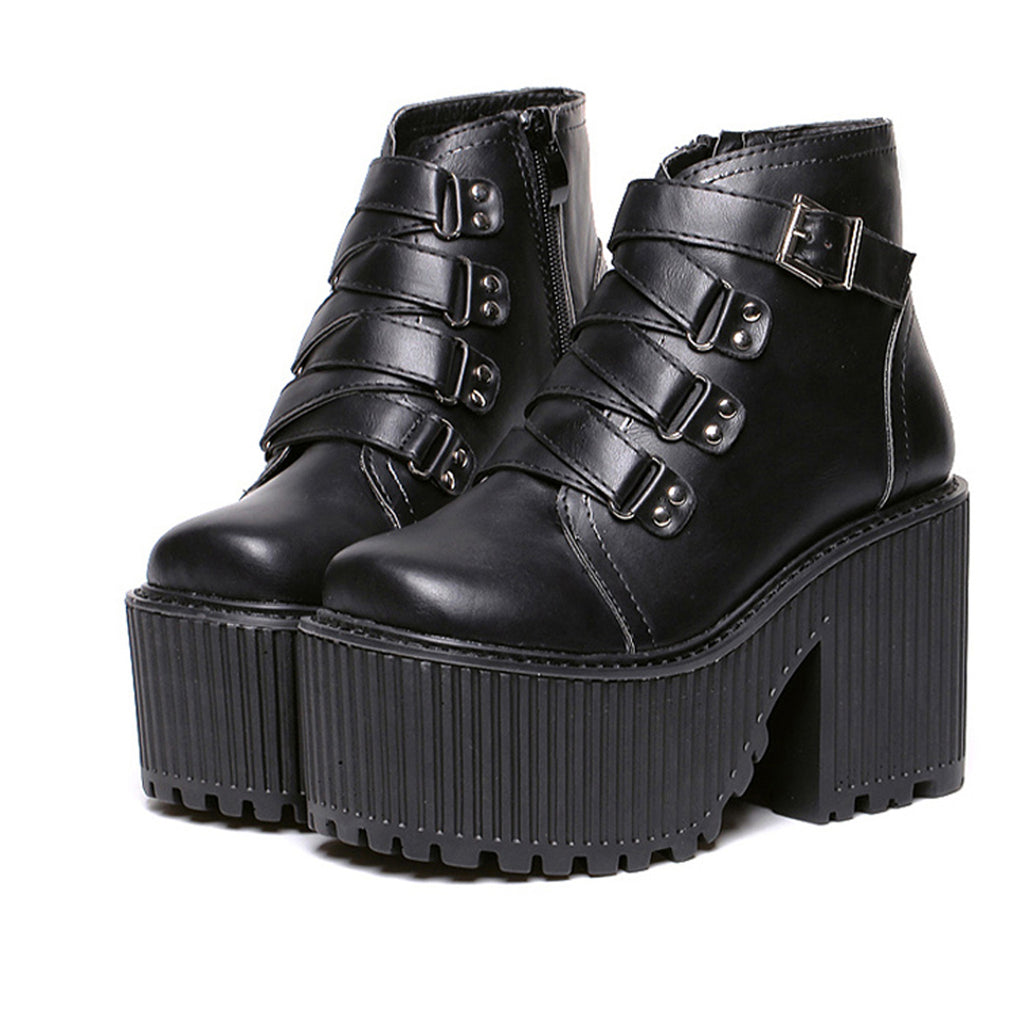 BUCKLE Grunge BOOTS