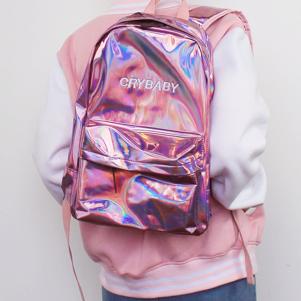 GET IT NOW - KOKO HOLOGRAPHIC CRYBABY BACKPACK