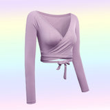SOFTY LAVENDER CROP TOP