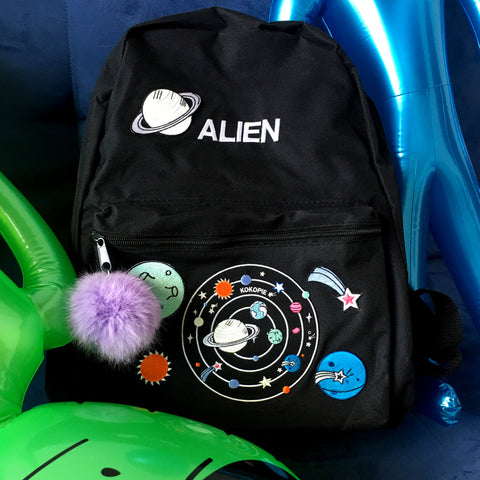 KOKO-OUTER SPACE ALIEN BACKPACK