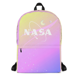 PASTEL NASA TUMBLR SOFT GRUNGE BACKPACK - SWEATSHOP-FREE MADE IN USA