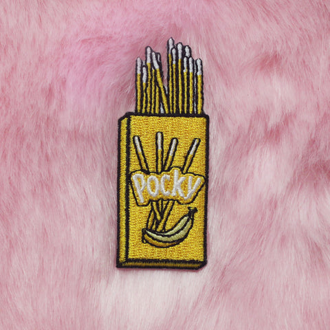 KOKO KAWAII BANANA POCKY PATCH